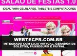 Webtec Salão de Festas