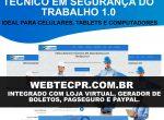 Criação de sites para técnico em segurança do trabalho