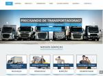 Site Pronto para Transportadoras – Criação de sites para transportadora e empresas de transportes MODELO WEBTEC-CORPORATIVO 10 TRAS01