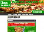Webtec Pizzari 6.2 site para pizzaria lançamento Modelo ijhgs445rjn10