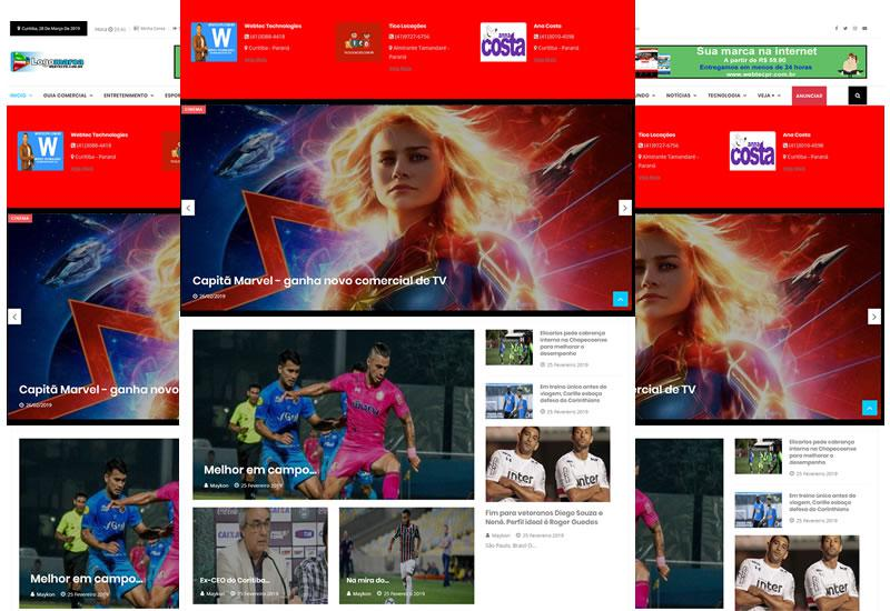 Webtec News 12 - 6 - Portal de notícias o mais completo do mercado - Script de notícias e guia