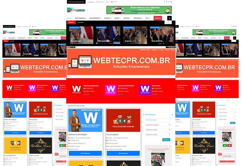 Webtec News 12 - 68 - Guia comercial estilo mercado livre e olx em php e aplicativo