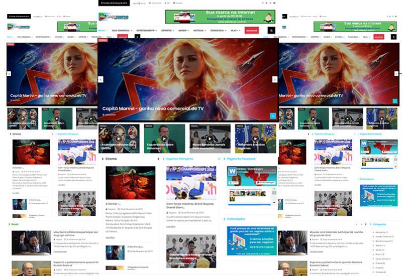 Webtec News 12 - 9 - Mega Site para notícias e guia comercial - enquetes, eventos, vídeos, produtos