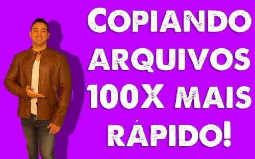 Copiando arquivos 100 vezes mais rápidos via CMD - Maykon Silveira