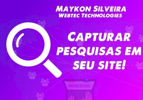 Deseja um aplicativo para capturar pesquisas em seu site.
