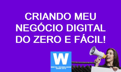 Meu negócio digital do zero e fácil - Treinamento compledo