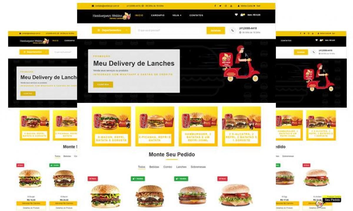 Sistema de Delivery para Lanches