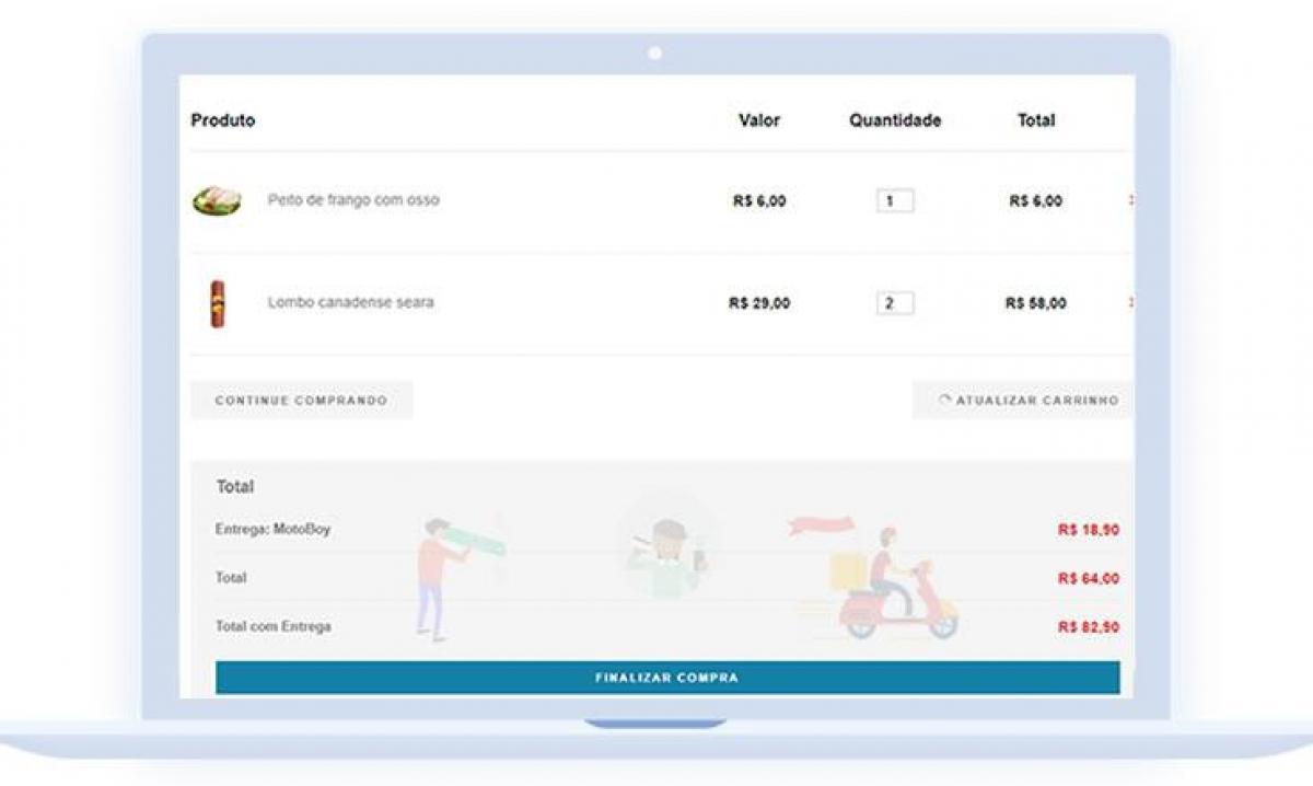 Sistema de Delivery para Mercados