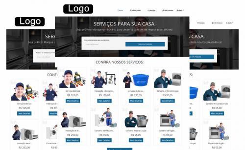 Sistema e site para prestação de serviços - Escalável Médio e Grande Porte