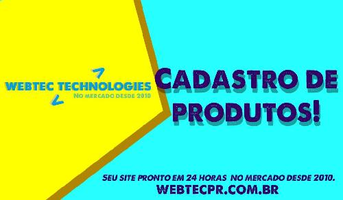 Sistema para produtos  - Webtec Technologies - Sites Prontos para guia comercial e classificados
