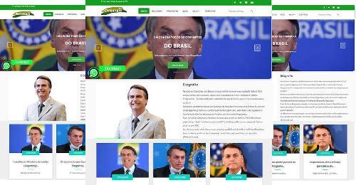 Site Pronto para câmera de deputados