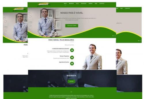 Site pronto para candidatos e políticos em geral - Wordpress