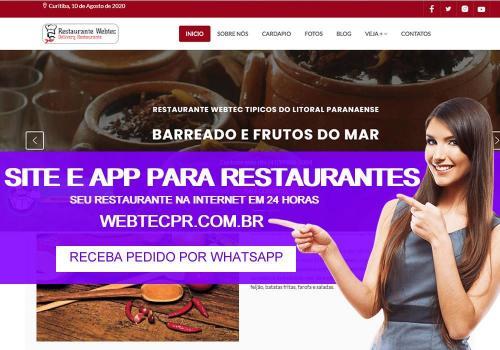 Site Pronto Para Restaurante - Cardápio Online - Criação de Sites Para Restaurantes