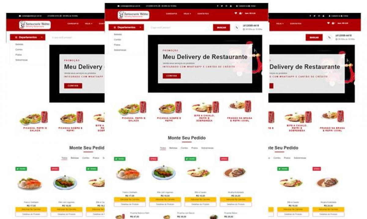 Software de Delivery  p/ Restaurantes