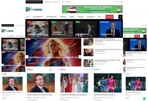 Webtec News 12 - 12 - Portal de notícias para venda de banners, assinatura mensal e guia comercial