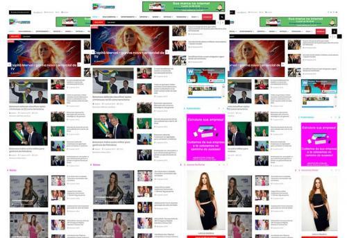 Webtec News 12 - 11 - Site e Blog pronto para esportes e notícias - guia comercial - assinaturas