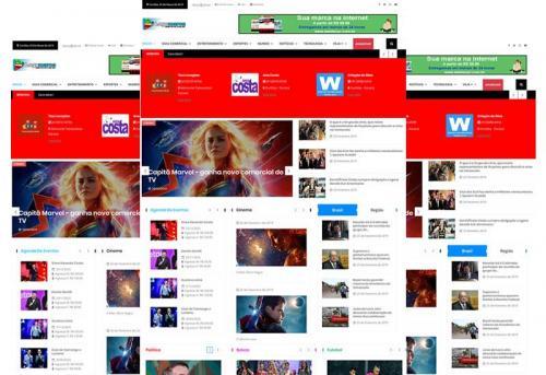 Webtec News 12 - 13 - Script Pronto Para Revista Virtual com Assinatura Mensal - Blog e Guia