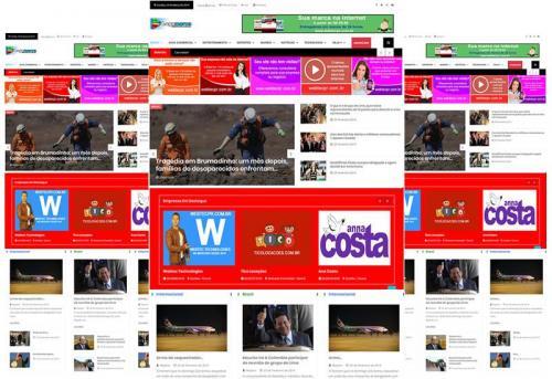 Webtec News 12 - 25 - Venha para o mundo digital - criação de sites blog - blog e eventos