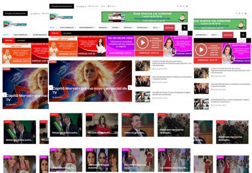 Webtec News 12 - 31 - Script de notícias o mais completo do Brasil - como vender online - delivery
