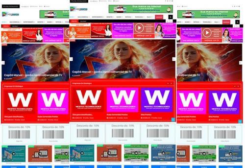 Webtec News 12 - 35 - Desenvolvimento de sites para notícias - script revista virtual - assinatura