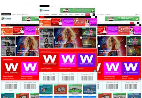Webtec News 12 - 36 - Guia comercial  e portal de notícias - script para blog de notícias - scripts