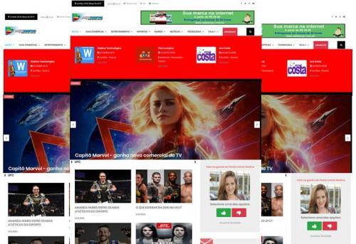 Webtec News 12 - 5 - Aplicativo web para notícias - site responsivo para notícias - aplicativos