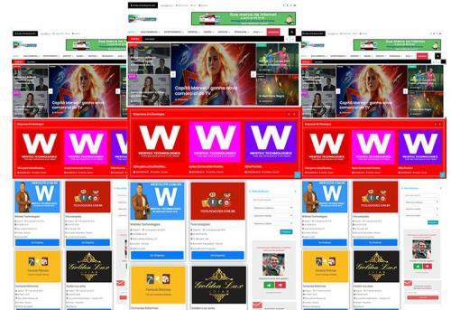 Webtec News 12 - 64 - Desenvolvimento de sites para guias comerciais - crie seu guia comercial