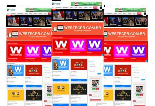 Webtec News 12 - 69 - Temas para guia comercial - templates para guia comerciais - html5 para guia