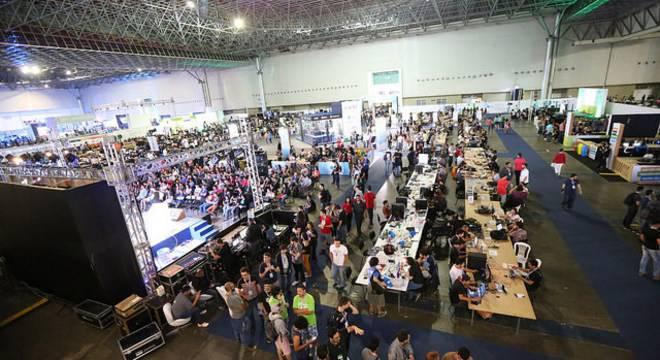 Campus Party Brasil leva tecnologia para o Pavilhão do Anhembi