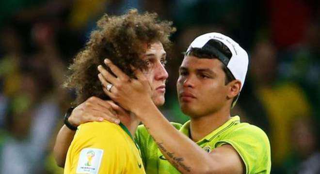 David Luiz não se recuperou como Thiago Silva após 2014, avalia Tite