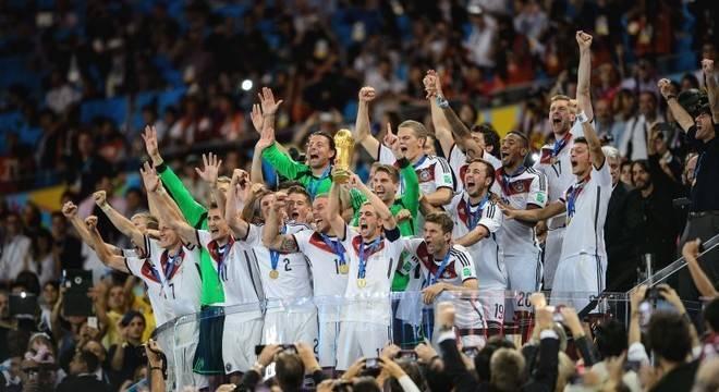 Alemanha tenta dar fim à maldição do ranking da Fifa na Copa 2018