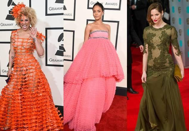 Looks errados do Grammy, aparência...