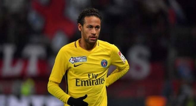Neymar comemora título do PSG: \\\'Queria estar...