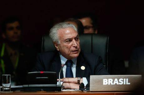 Temer critica corrupção durante discurso na Cúpula das Américas
